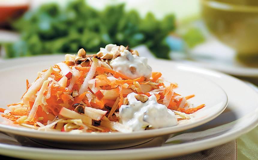 Kolrābju salāti recepte