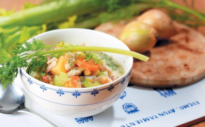 Kūpinātas zivs zupa recepte