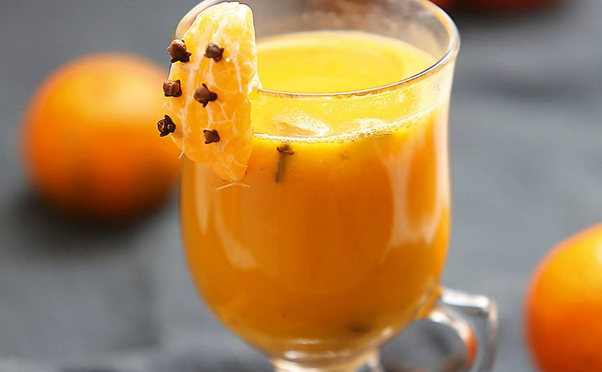 Smiltsērkšķu, mandarīnu dzēriens