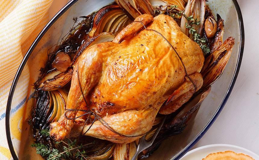 Ar malto gaļu pildīta vista receptes