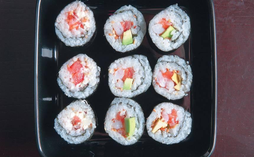 Suši ar lasi recepte