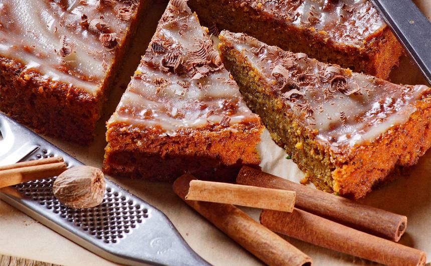 Burkānu un šokolādes kūka