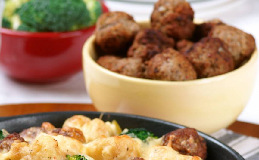 Vienkāršās gaļas bumbiņas recepte