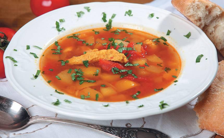 Vistas zupa ar kariju recepte
