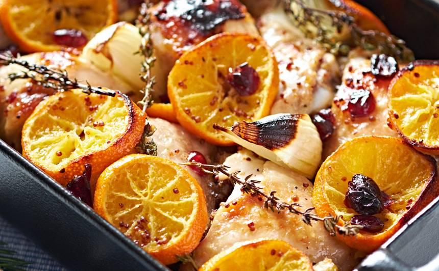 Vista mandarīnos receptes