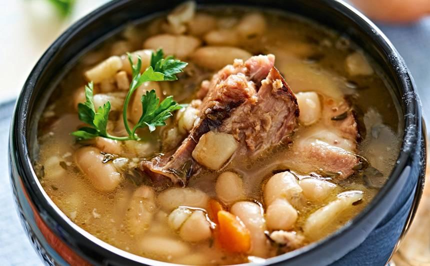 Kaltētu pupiņu zupa recepte