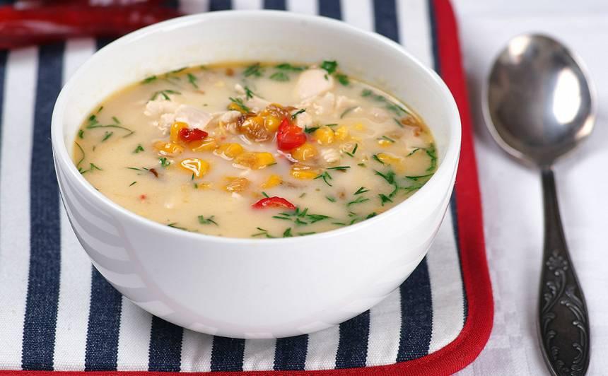 Meksikāņu kukurūzas zupa recepte