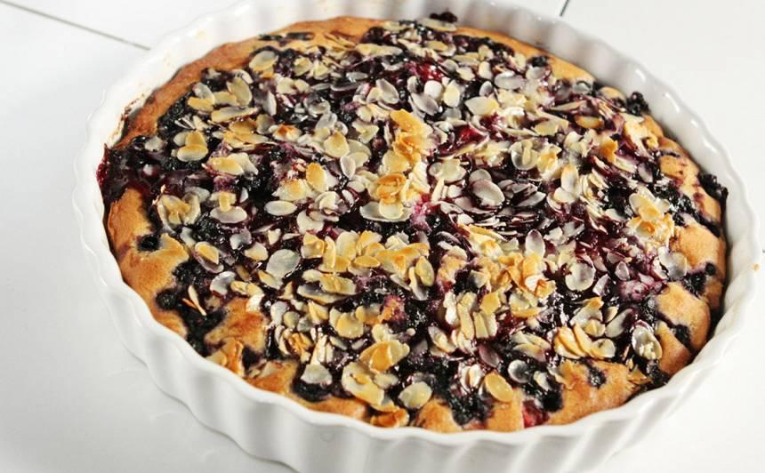 Raibā ogu kūka recepte