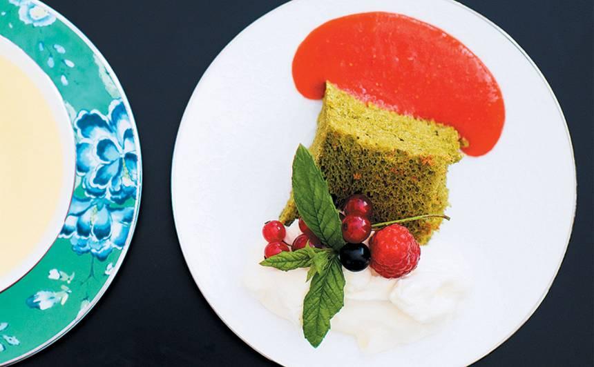 Zaļās tējas kūka recepte