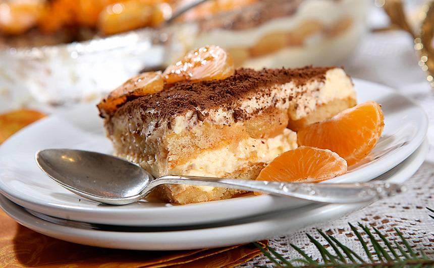 Apelsīnu tiramisu  ar mandarīniem