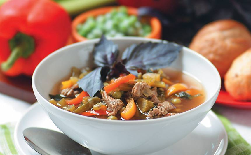 Dārzeņu zupa recepte