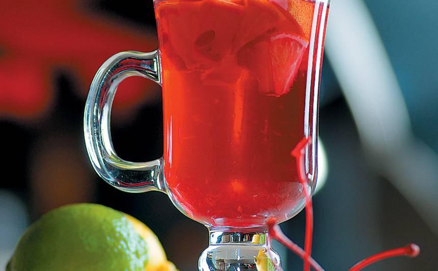 Sarkanā augļu tēja recepte