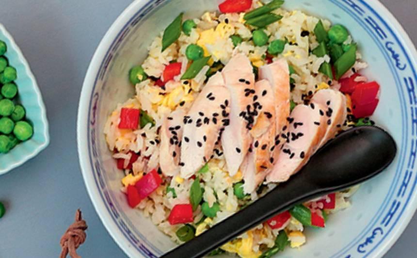 Cepti rīsi ar vistu recepte