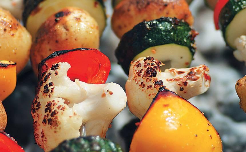 Dārzeņu iesmiņi grilēšanai recepte