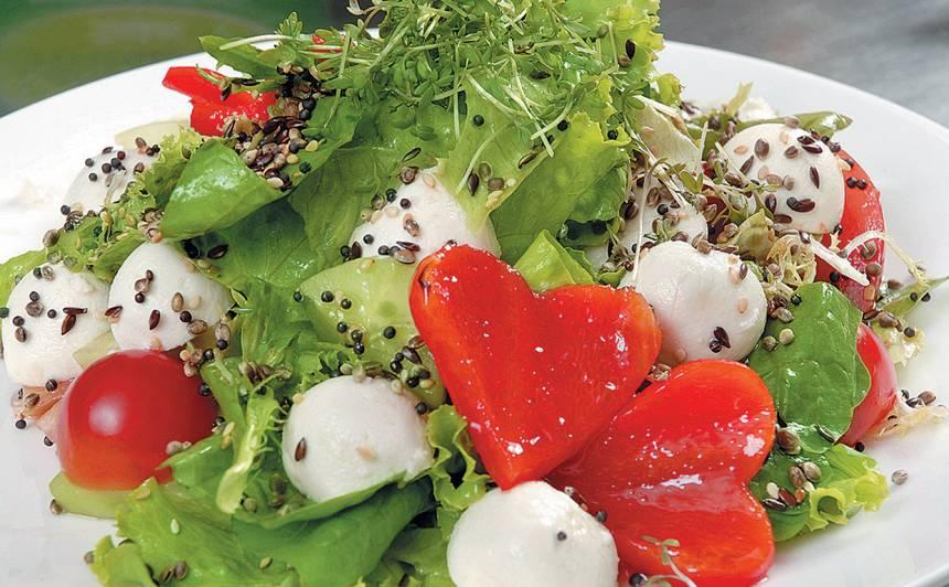 Mīlestības salāti recepte