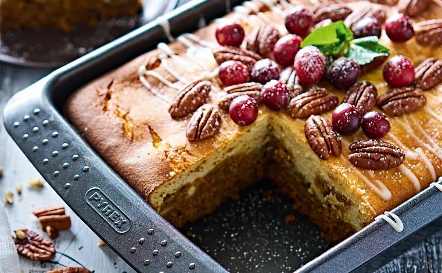Burkānu un biezpiena kūka