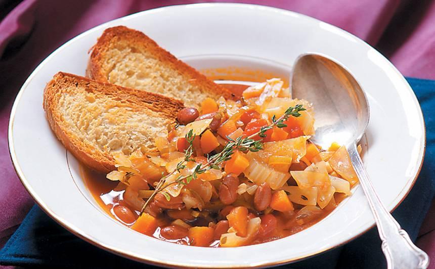 Bagātīgā dārzeņu zupa recepte