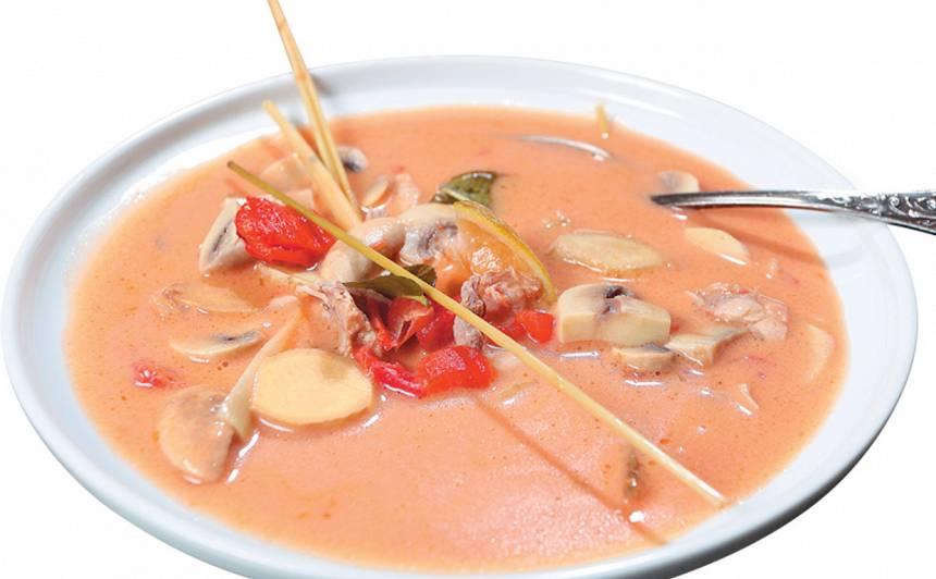 Sildošā taizemiešu zupa recepte