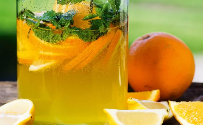 Apelsīnu un citronu bole receptes