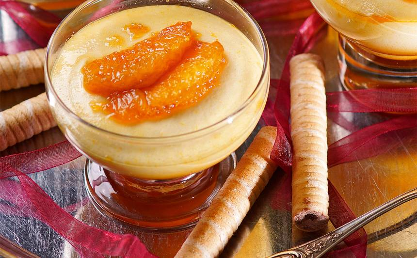Krēms ar karamelizētu apelsīnu