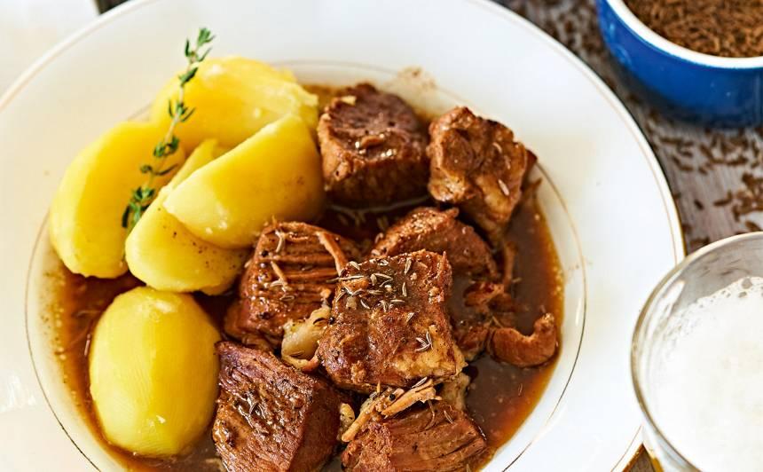 Bohēmiešu alus gaļa recepte