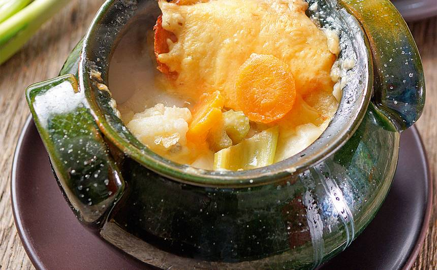 Vistas zupa podiņā recepte