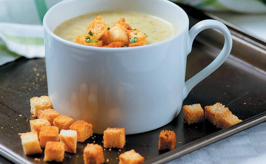 Puravu un kartupeļu krēmzupa recepte