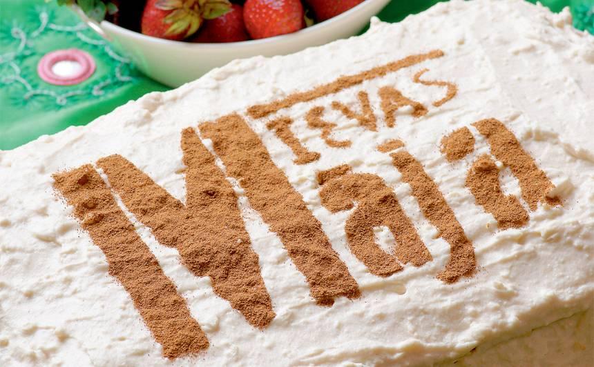 Īpašā biezpiena kūka recepte
