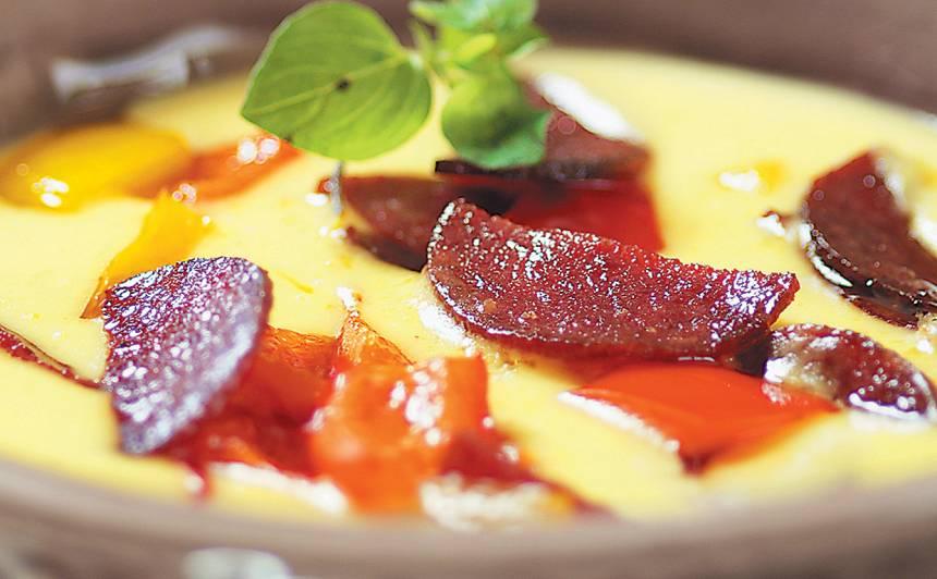 Dzelteno papriku zupa recepte