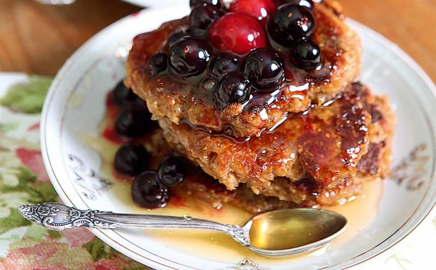 Griķu pankūkas ar āboliem recepte
