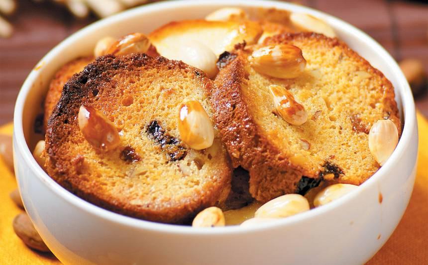 Saldais maizes sacepums ar mandelēm recepte