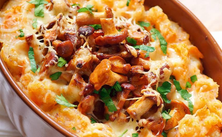 Gailenes kartupeļu un burkānu biezenī