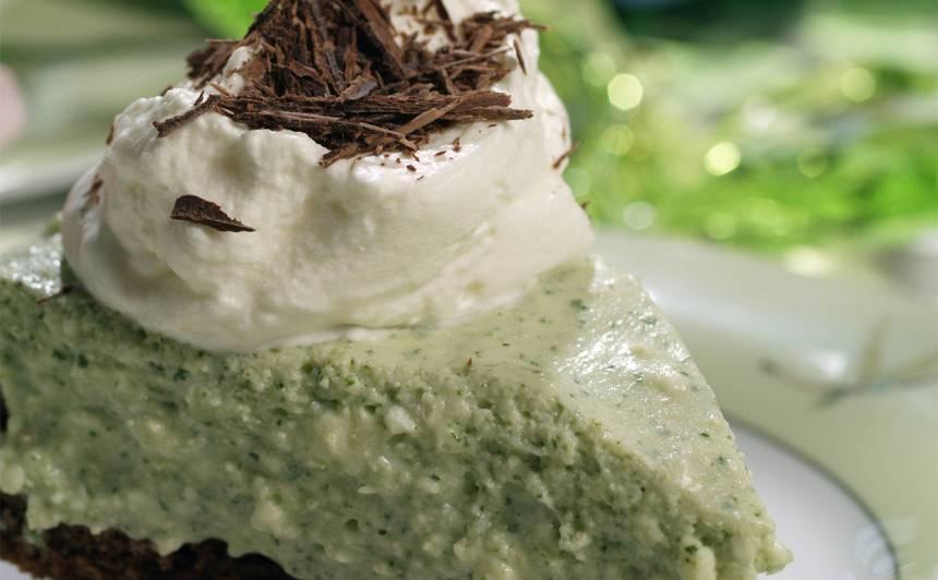 Piparmētru kūka recepte