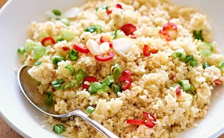 Ziedkāpostu rīsi recepte