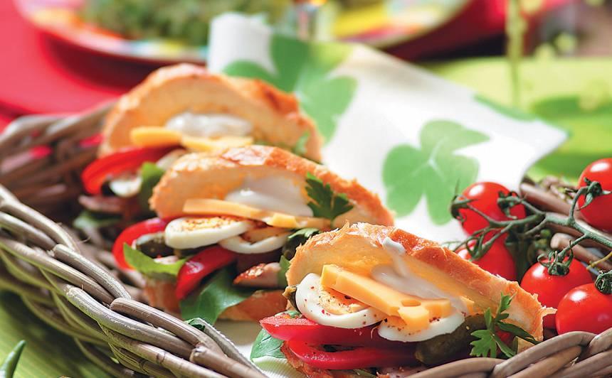 Pildītas sviestmaizes recepte