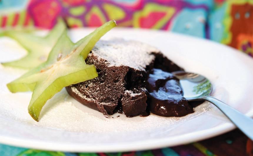 Karstās šokolādes kūciņas recepte