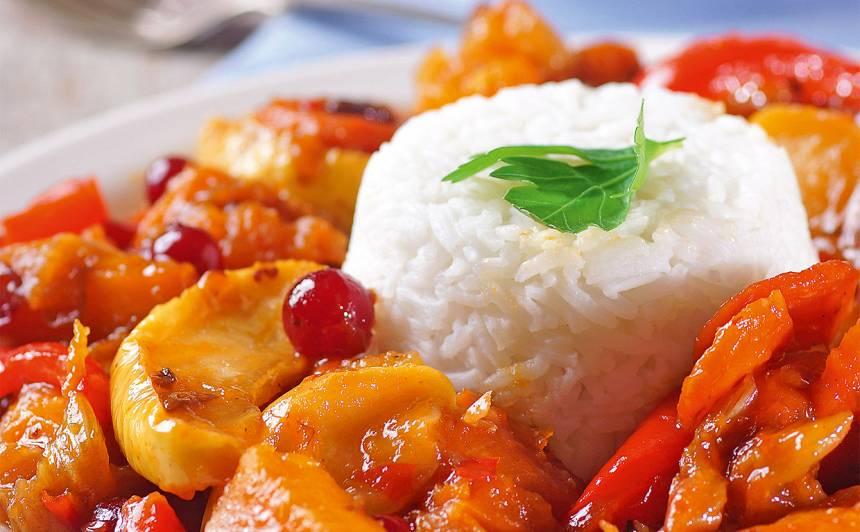 Cepti dārzeņi ar rīsiem recepte