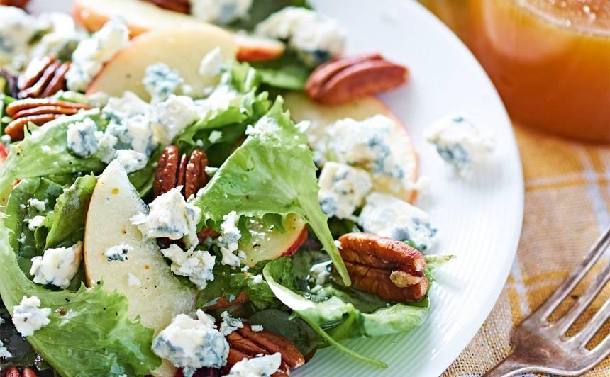 Salāti ar medus mērci recepte