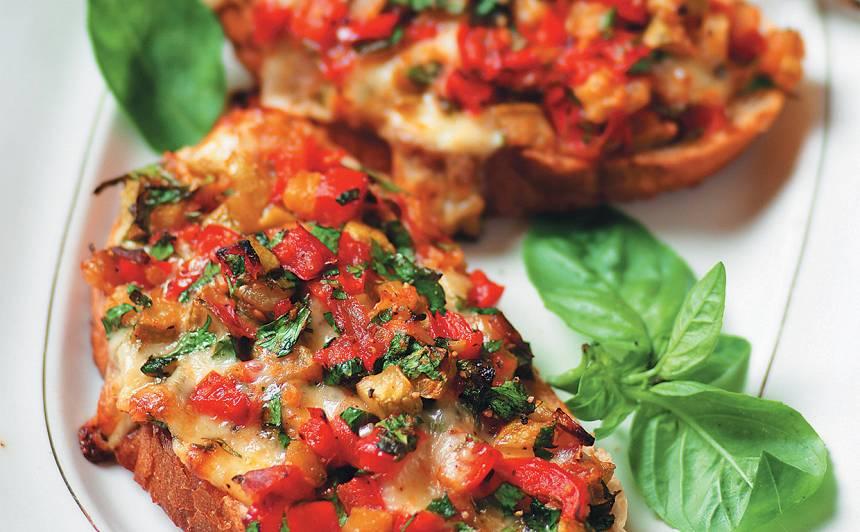 Karstmaize ar dārzeņiem recepte