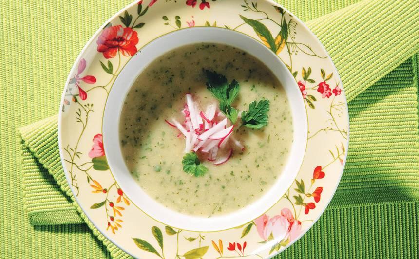 Kolrābju zupa recepte