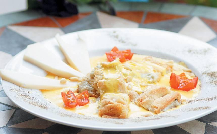 Pungaro - Umbrijas siera pīrāgs recepte