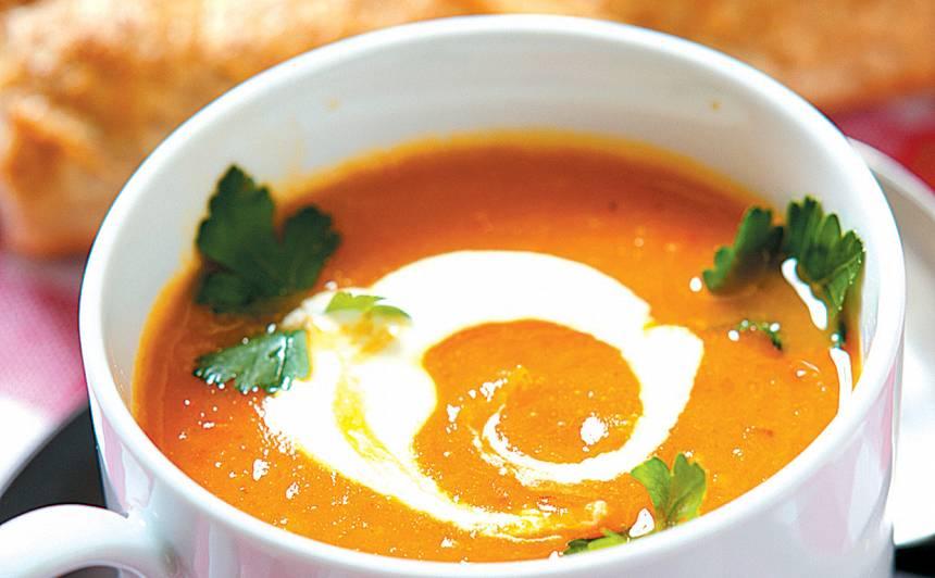 Kabaču un paprikas zupa recepte