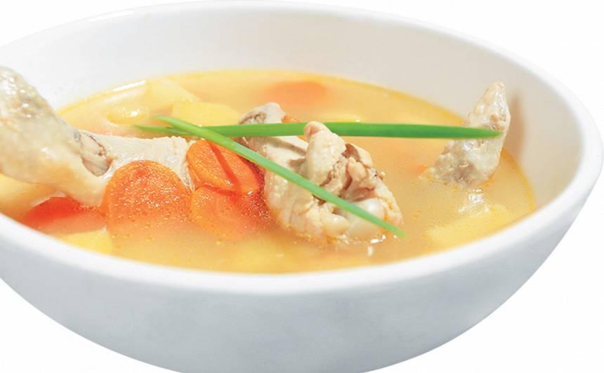 Vistas zupa recepte