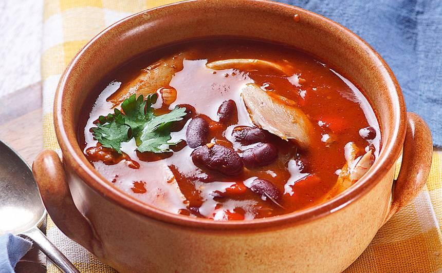 Meksikāņu vistas zupa recepte