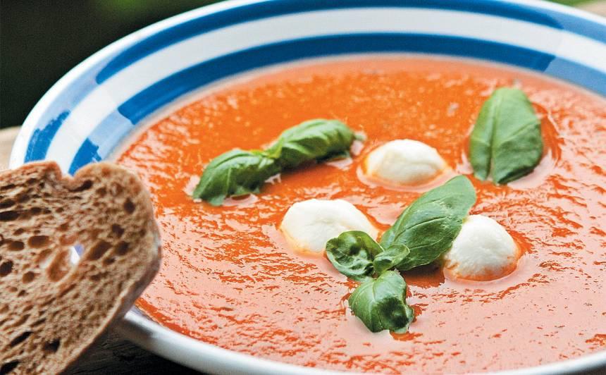 Saulainā tomātu zupa recepte