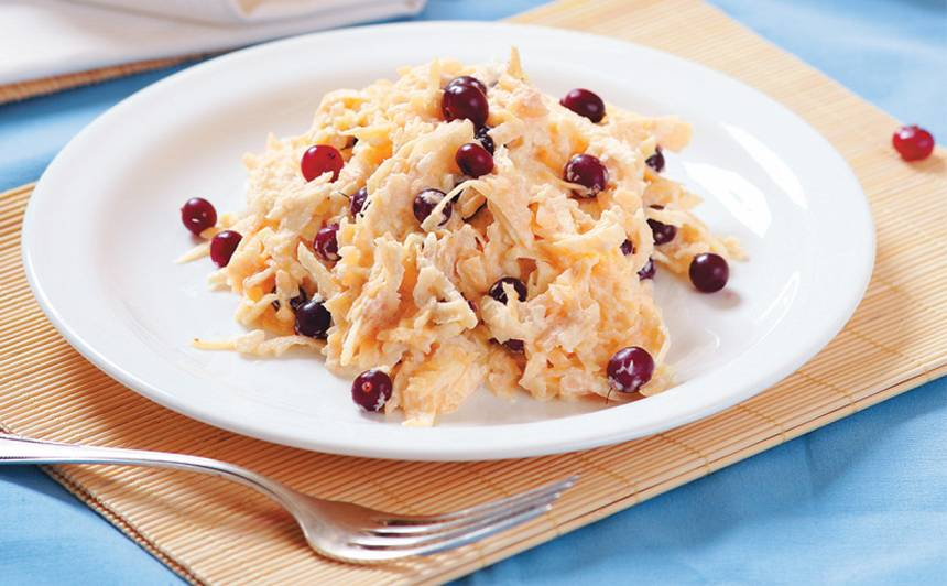 Ķirbju salāti recepte