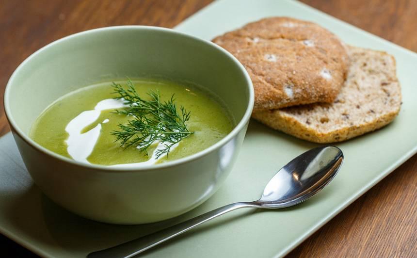 Puravu un kartupeļu zupa
