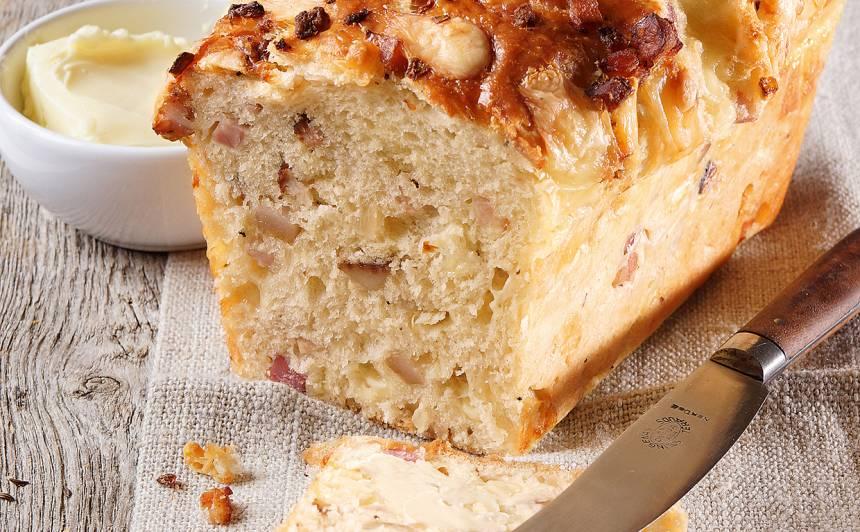 Uzkodu maize recepte