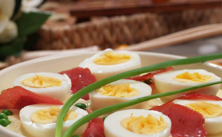 Olas piena un sinepju mērcē recepte