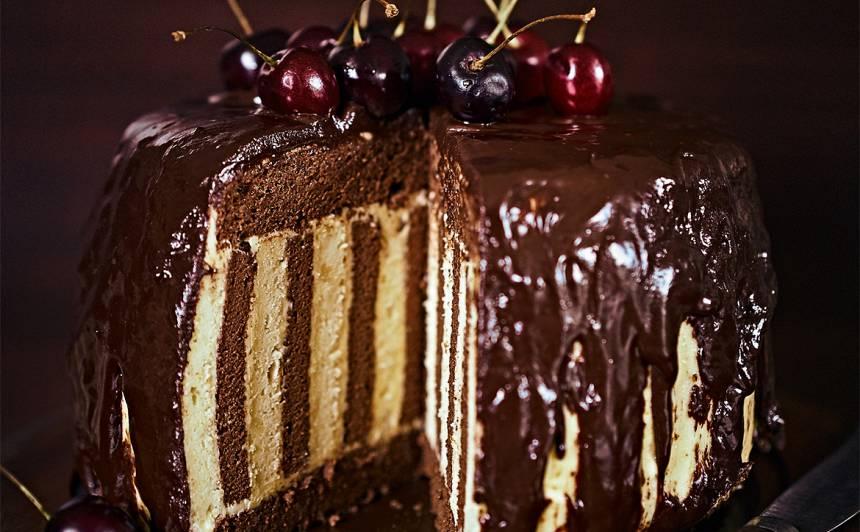 Tītā šokolādes un apelsīnu torte
